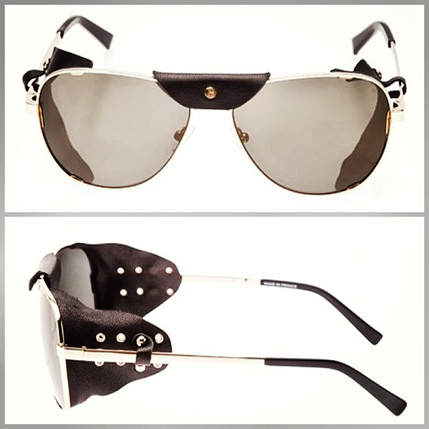 Stay cool with these @Balmain moto #sunglasses