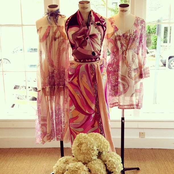 @EmilioPucci scarves and dresses and towels, oh my! (at SERENELLA Nantucket)