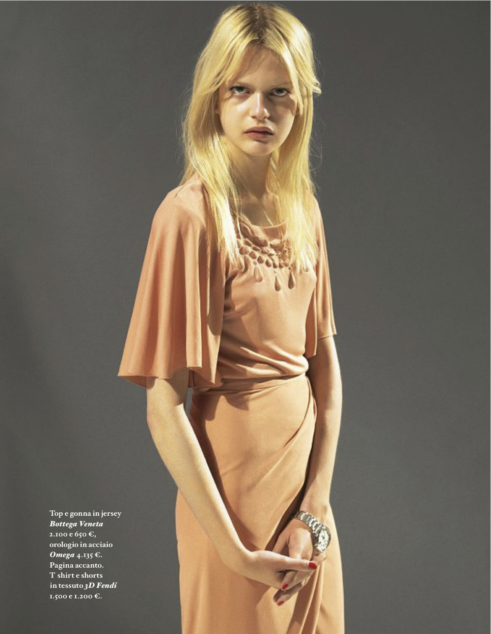 Less is more… A beautiful monochromatic look byBottega Veneta
