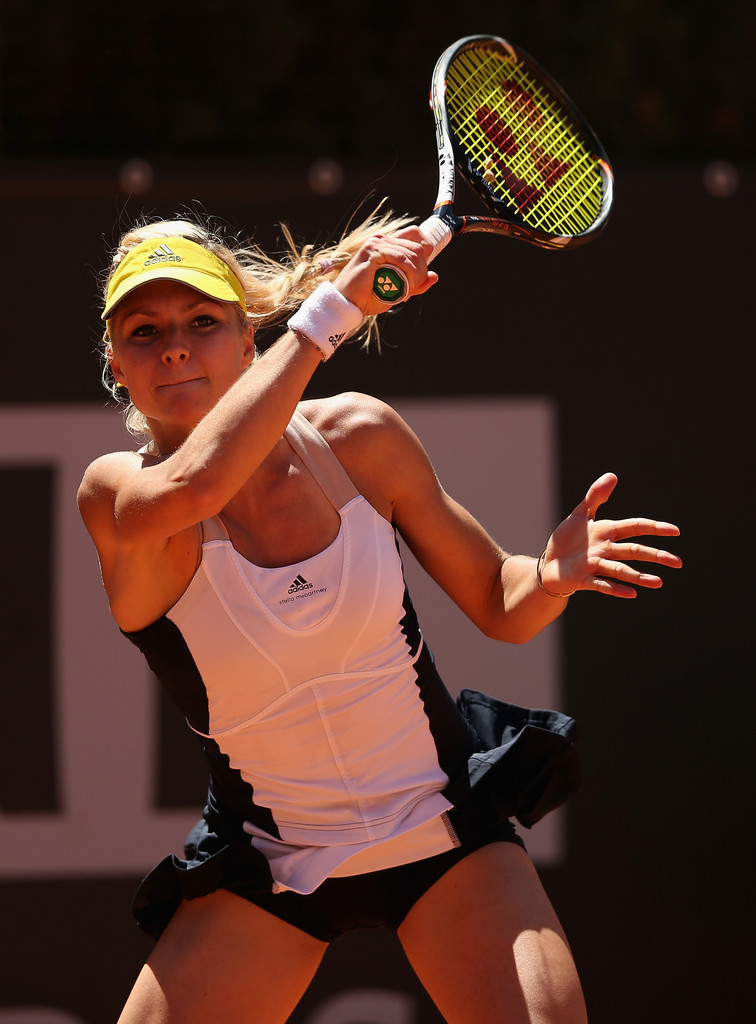 Congratulations Maria Kirilenko on her win today at the French Open! We love her Adidas by Stella Mccartney too!