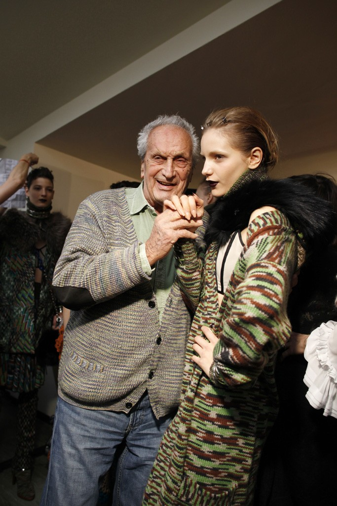 """We are saddened to hear that Ottavio Missoni, founder of the Missoni fashion house, has passed away this morning. We send our condolences to his family. Mr. Missoni was a visionare who designed the iconic Missoni sweaters that were collected by fashion icons like Lauren Bacall in the 1950's, by the legendary Vogue editor Diana Vreeland, and more recently by Madonna and Jennifer Lopez. """"I like comparing color to music: Only seven notes and yet innumerable melodies have been composed with those seven notes. How many basic colors are there? I don't remember exactly, seven perhaps, like the notes of the scale, but how many tones or shades does each color have? An infinite number, just as always endless are the hues and nuances composing a work of art"""" - Ottavio Missoni Read theWWD - Women's Wear Dailyobituary here:http://wwd.us/YwYvJN"""