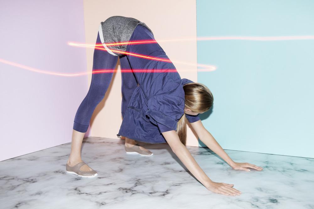 Get vinyasa-ready with Adidas by Stella McCartney. Namaste!