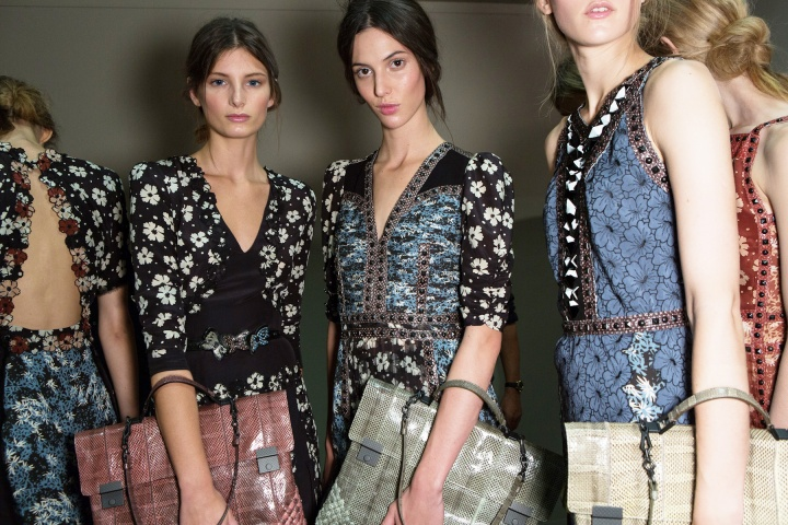 Get an exclusive behind-the-scenes look at the Bottega Veneta Spring/Summer 2013 runway show with Vogue