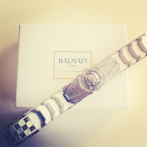 How amazing is our new @Balmain belt?