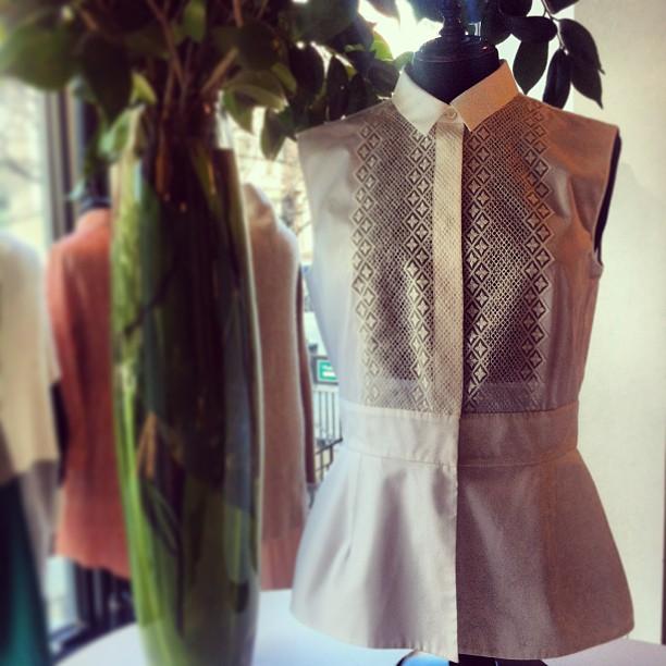 Put a little pep in your step with this Giambattista Valli peplum blouse! @GiambattistaPR