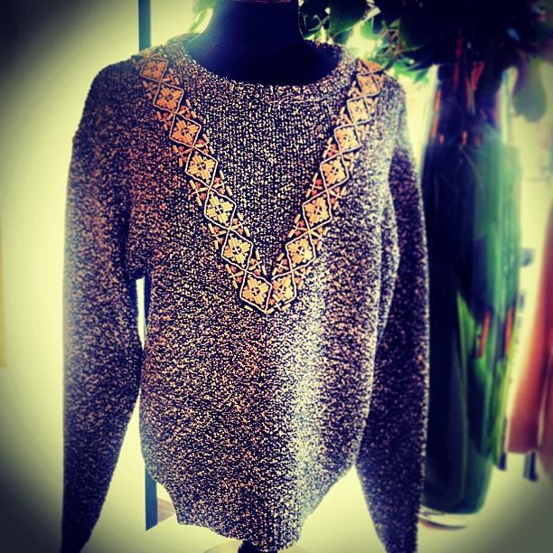 We're loving this Altuzarra 'Desert' sweater that we just got in