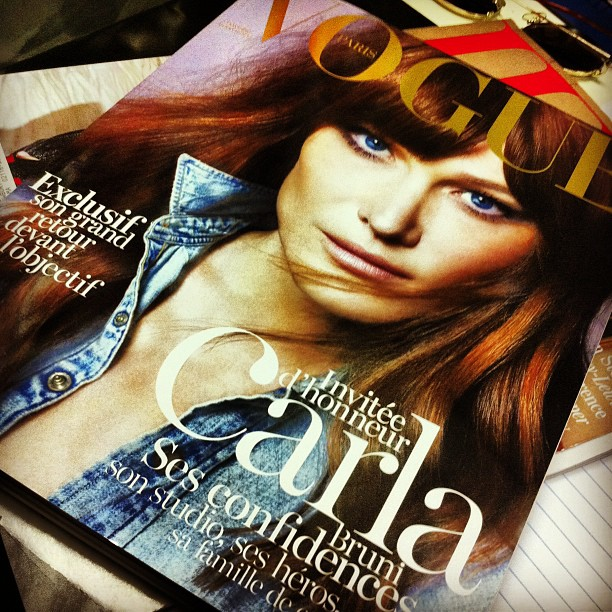 February issue of French Vogue straight from Paris!
