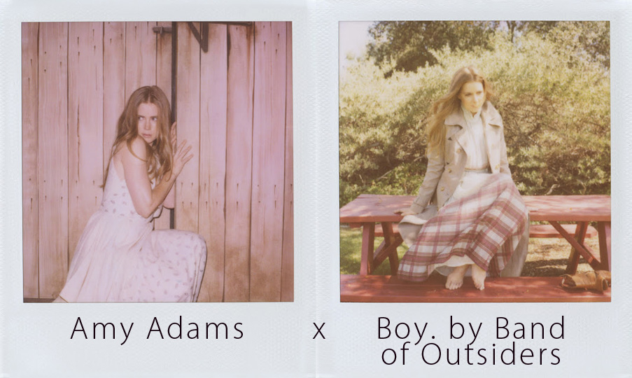 Michelle Williams, Josh Brolin, and now Amy Adams joins Boy. By Band of Outsiders. See Adams channel her inner cowgirl for the Fall Lookbook at boy.bandofoutsiders.com