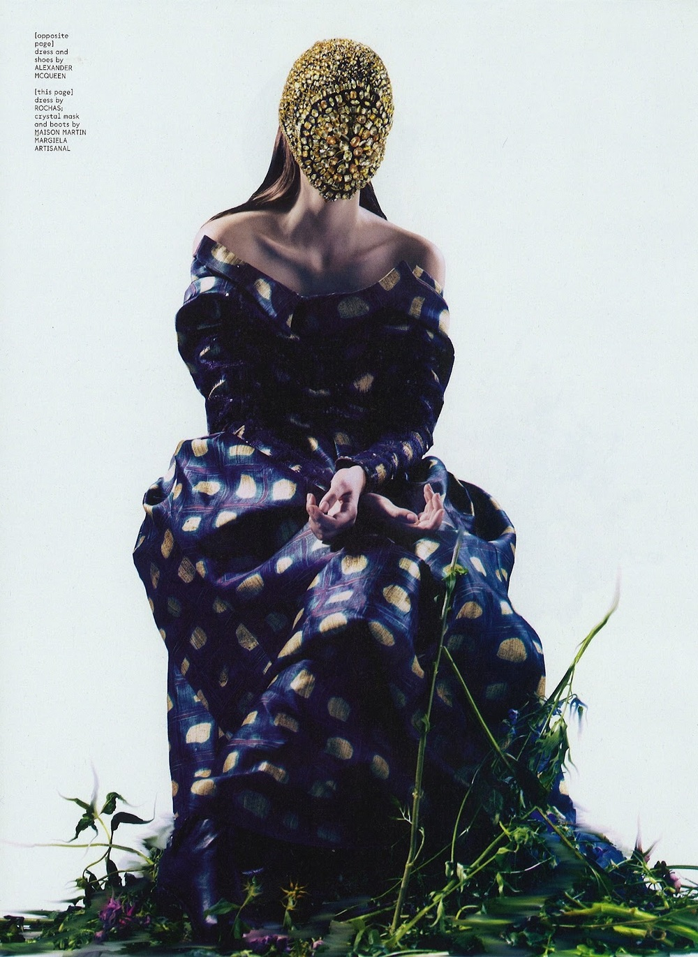 labellefabuleuse: Zuzanna Bijoch photographed by Pierre Debusshcere for Dazed & Confused, October 2012