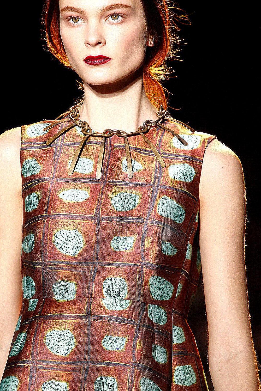 Rochas FW2012 collection. We love this print!