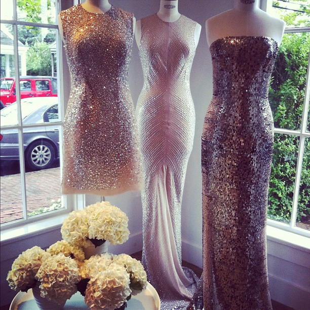 The KaufmanFranco trunk show has begun here on Nantucket! (Taken with Instagram at Serenella Nantucket)