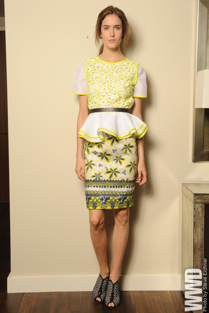 womensweardaily: Resort '13 Trend: Getting Graphic Prabal Gurung Resort 2013