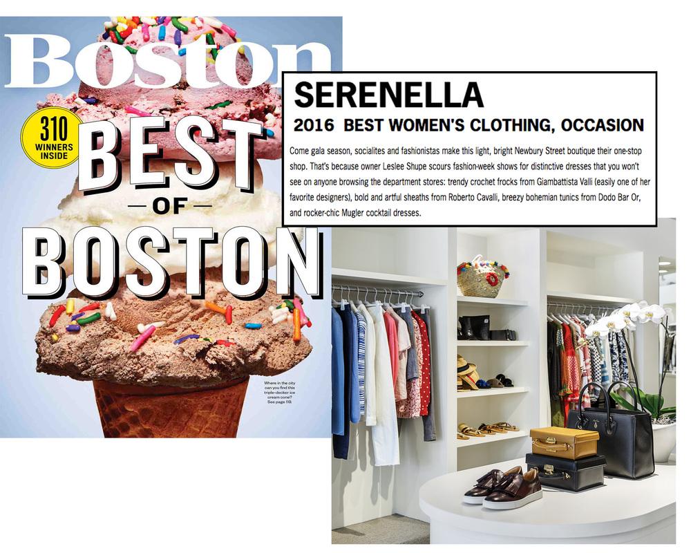 BEST OF BOSTON JULY 2016