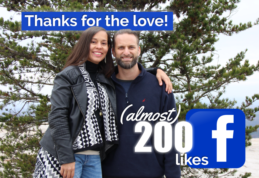 Great big thanks to our fans for helping us  (almost)  hit  200 Likes  on  Facebook  before we launch on Christmas!
