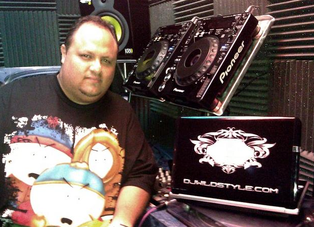 "Niel Guilarte, ""DJ Wildstyle"" (how about that Southpark shirt?)"