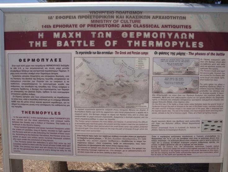 Thermopílai, Fthiotis, Greece. 2012