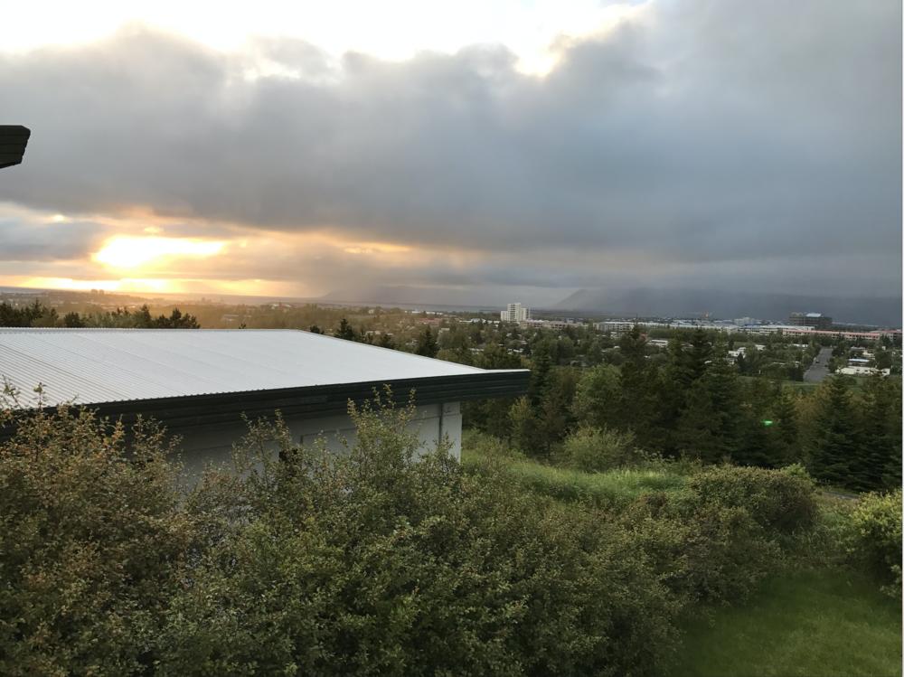 Overlooking Reykjavik, Iceland