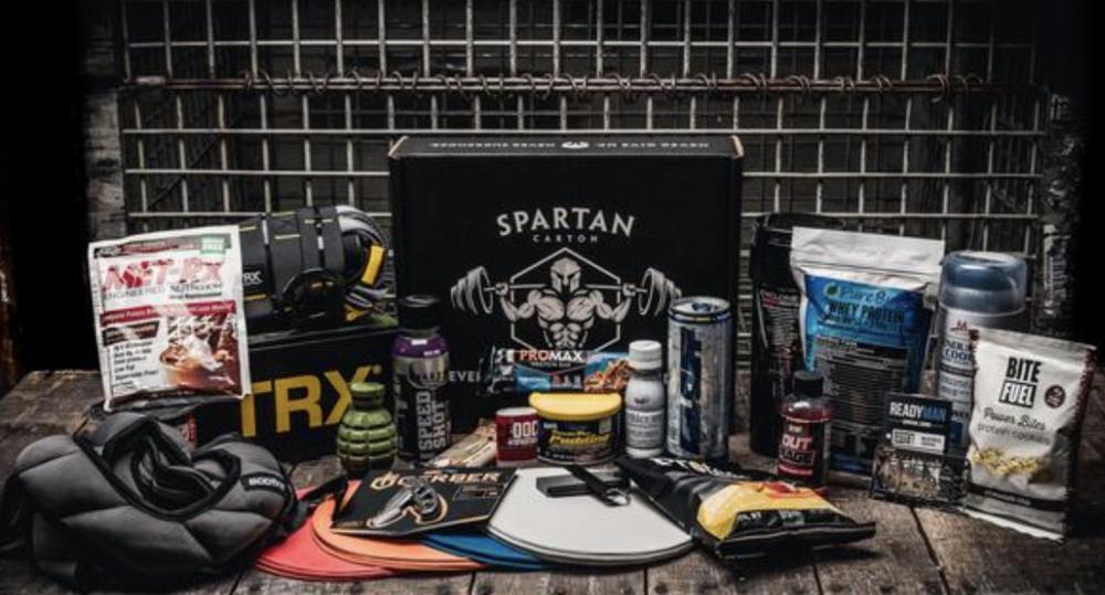 Spartan Carton Warrior Box