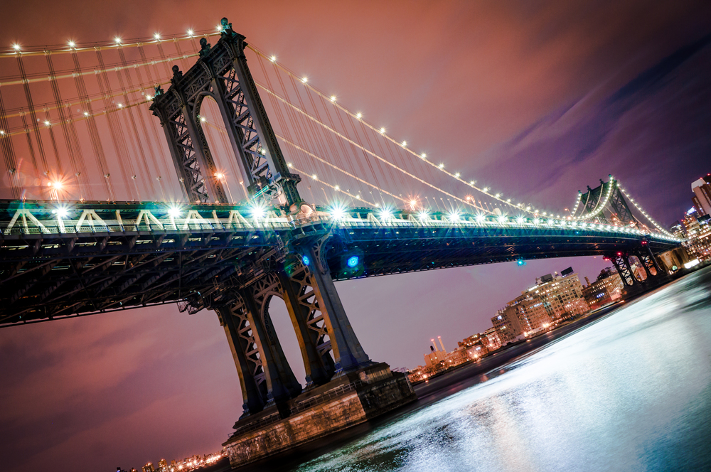 Manhattan Bridge - New York, NY