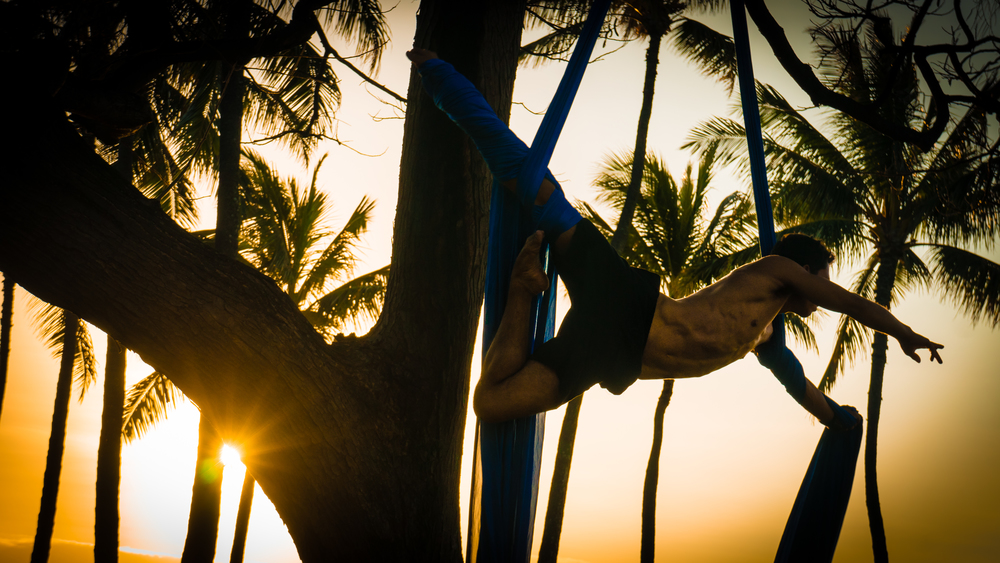 Silk Acrobatics - Waikiki, HI