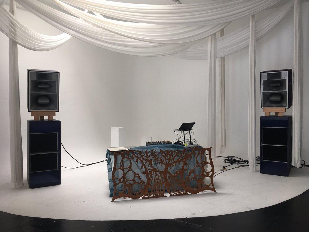 DJ booth...
