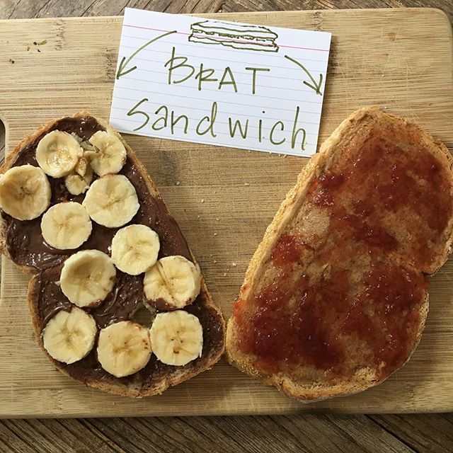 We eat our bratty sandwiches on weekdays. One bite at a time...Sitting at our desks...Just like ehhhhverybody else.