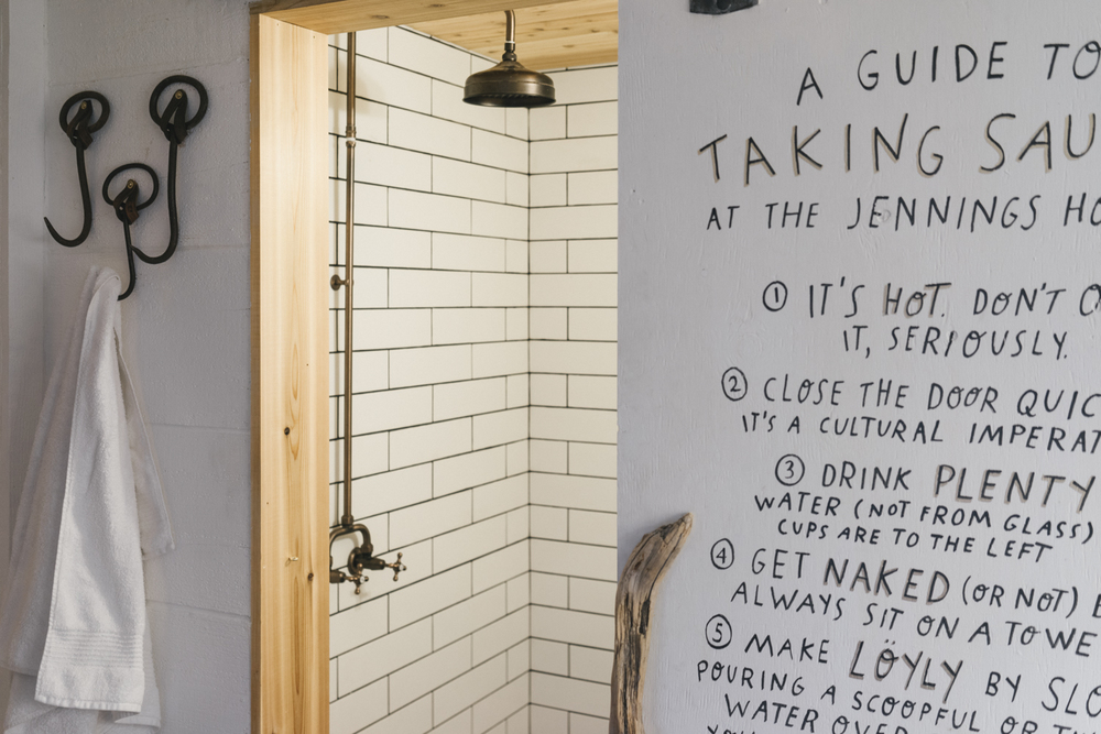Achieve sauna bliss with our hand drawn guide by Mary Rothlisberger