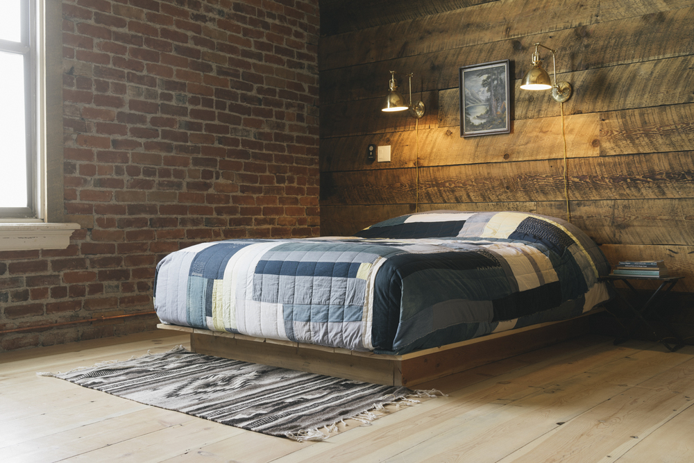 Sleep in late or read a book in the comfy bed, the soft north light is delightful