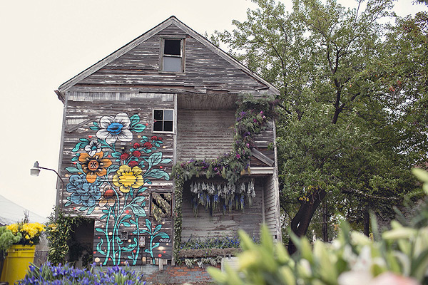 Flower House - Detroit, MI