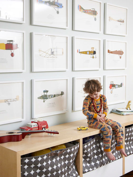 Classic Six Boys Room Art | CHUSED & CO.
