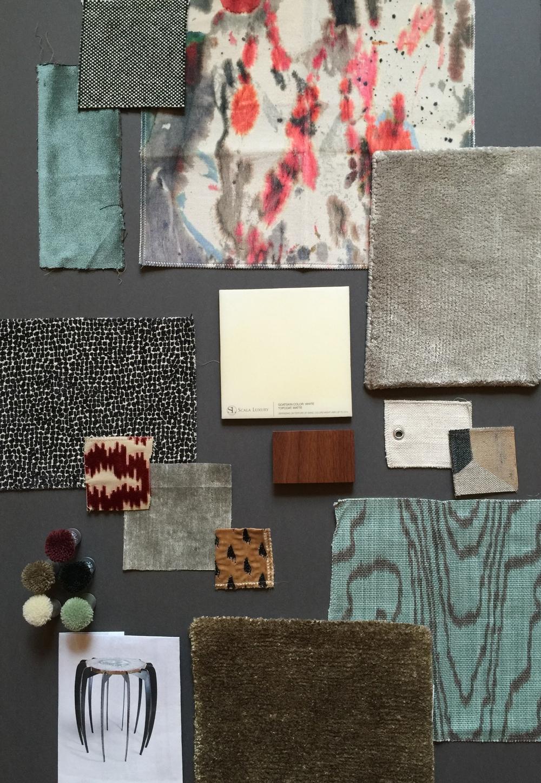 Art Collector's Mood board | CHUSED & CO.