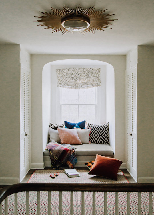 Eclectic Reading Nook | CHUSED & CO.