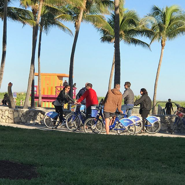 Its currently 44 degrees here in #miamibeach #oceandrive absolutely beautiful day and everyone is out and about! #foundinmiami #comeplaywithus#somiami#visitmiami#miamiwinter#tourismrocks#winterblizzard#miamistyle#vacationmiami#miamihotels#saltlife#wheresyourmojito 🐬🛳😎🧣🧤🌞❄️
