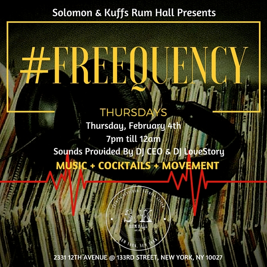 #FREEQUENCY THURSDAYS
