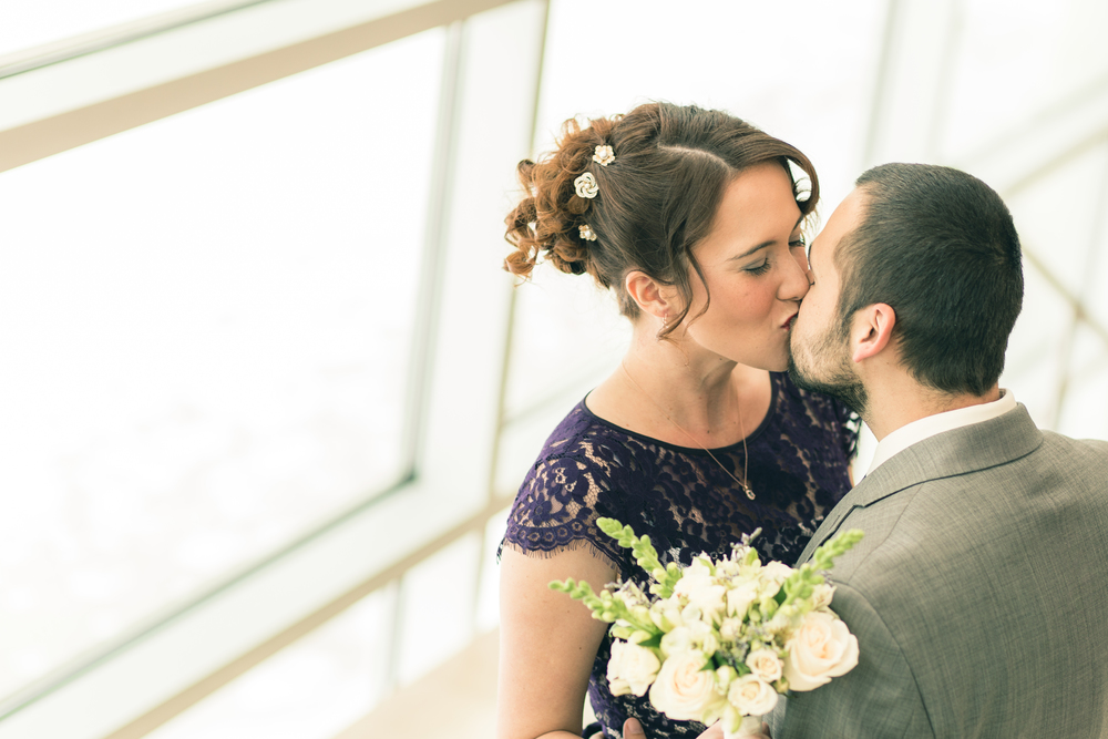 Omaha Wedding Photographers First Look