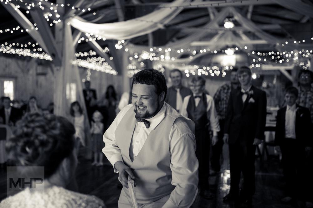 Omaha Wedding Photography Garter Belt