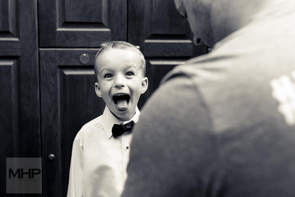 Omaha Wedding Photojournalism Ring Bearer