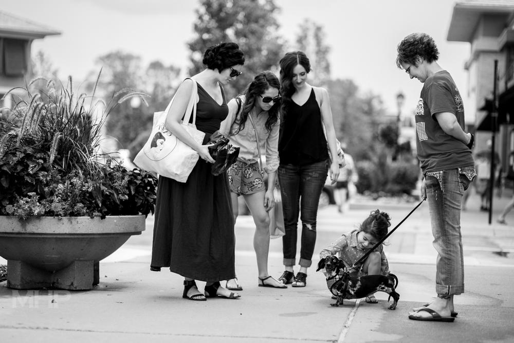 Documentary Wedding Photography Flower Girl