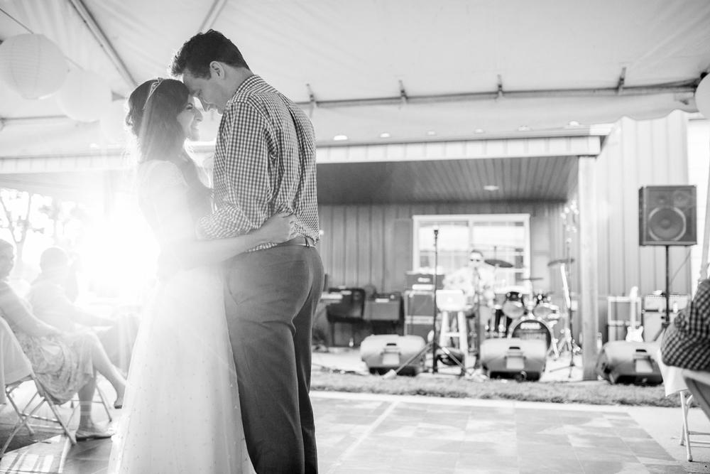 Documentary Wedding Photography First Dance