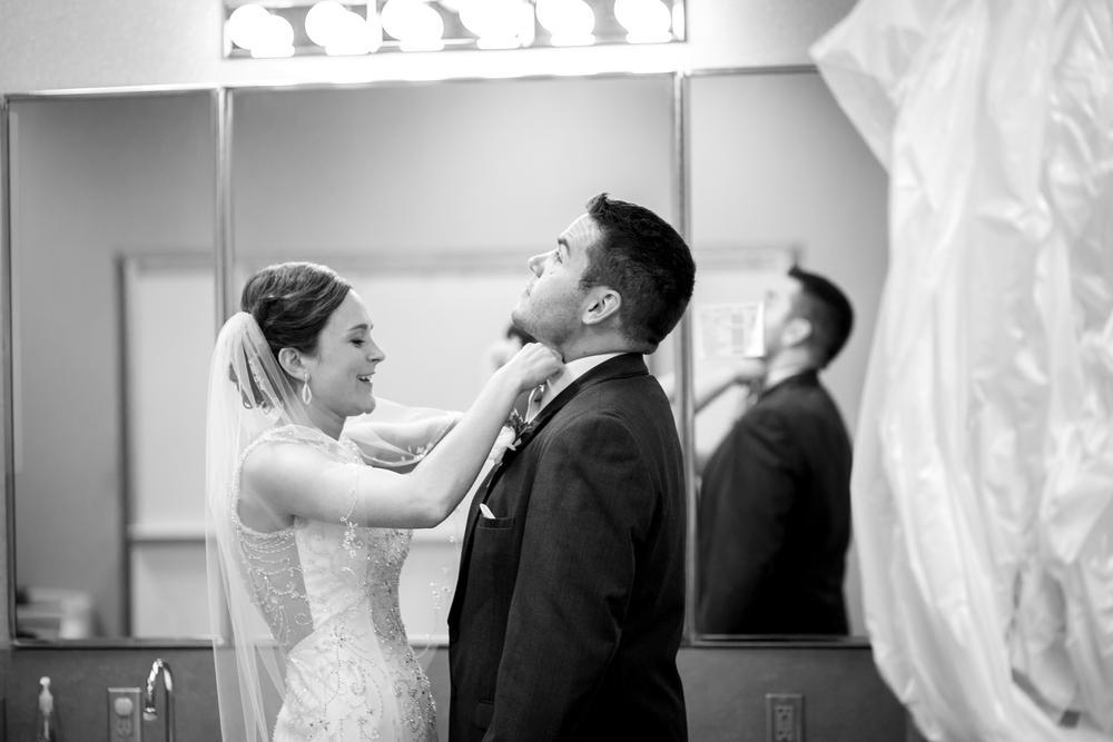 Omaha Wedding Photojournalism Bride and Groom
