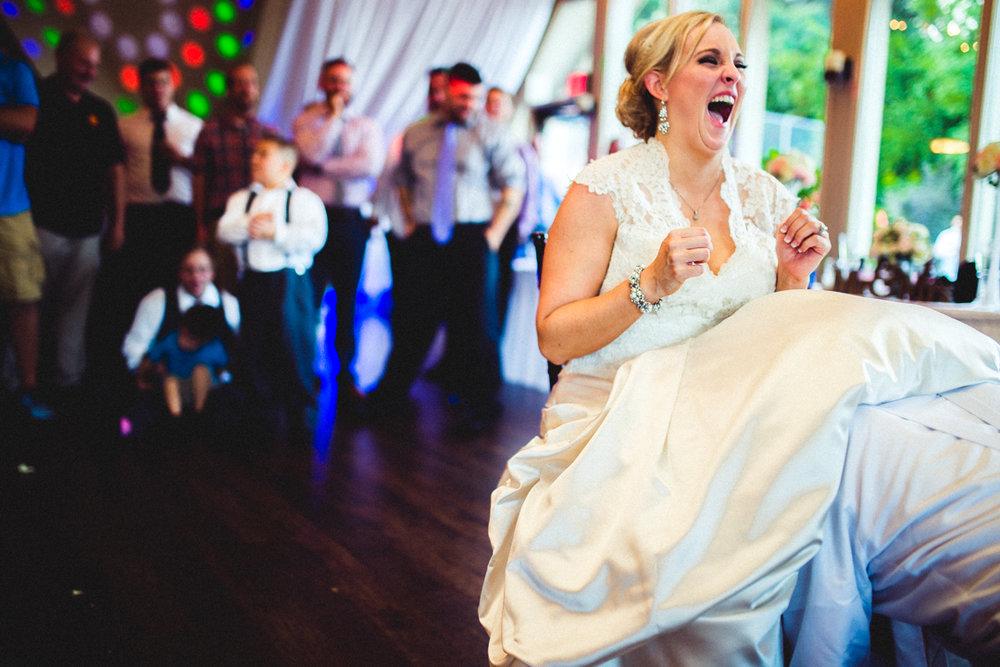 Omaha Wedding Photographer Fontenelle Hills Reception