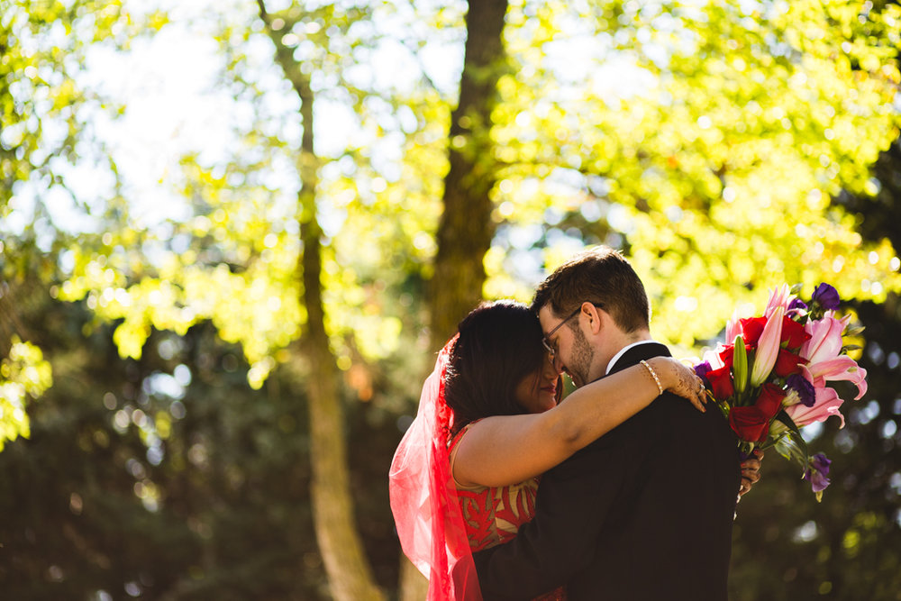 Destination Wedding Photographer Indian Wedding Omaha First Look