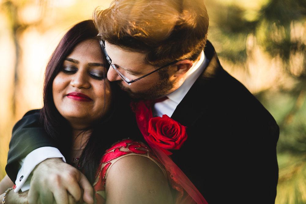 Bride and Groom Alone Wedding Photography Omaha NE