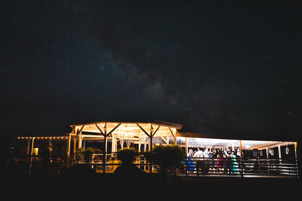 Milky Way Wedding Reception Omaha Wedding Photographer