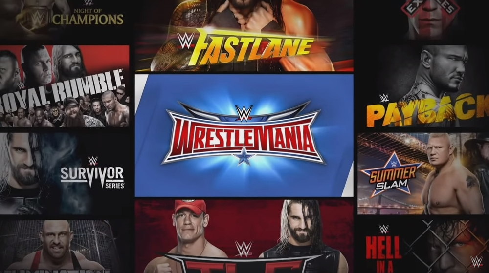 WWE Network subscribers get all WWE pay-;per-view events -- including WrestleMania -- for just $9.99 a month.