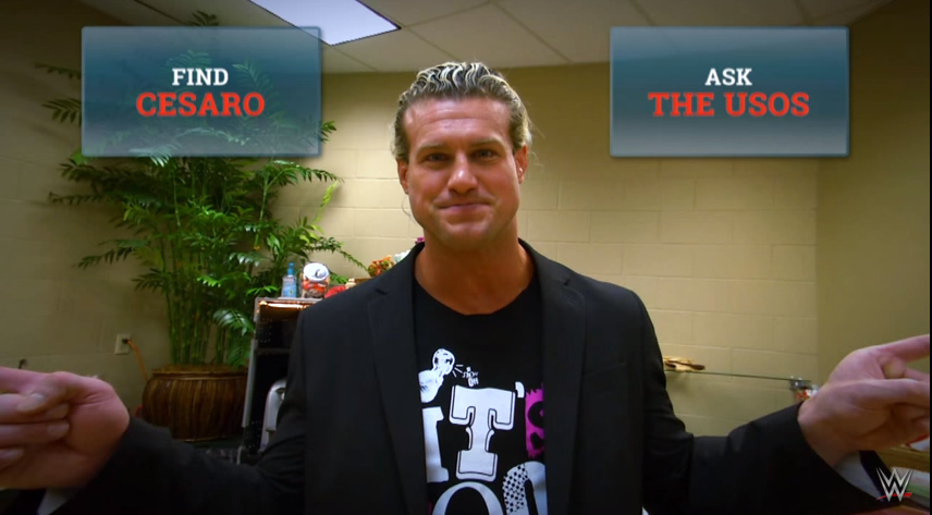 The quest for WWE Superstar Dolph Ziggler's phone kicks off our Interactive Adventure on YouTube, starring 21 different WWE talents.
