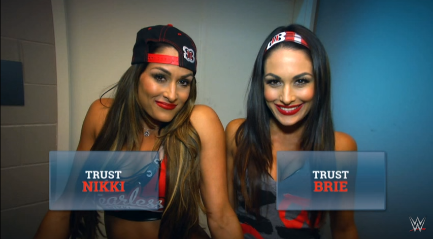 Which of The Bella Twins would YOU trust to help you find Dolph Ziggler's phone?