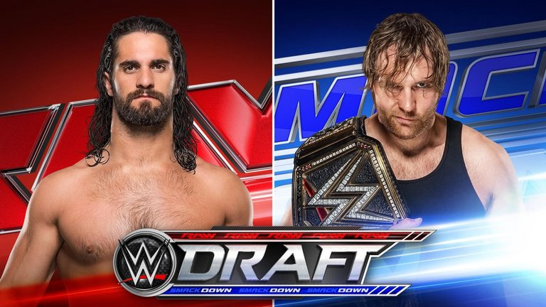 WWE Superstars Seth Rollins and Dean Ambrose were chosen as Raw and SmackDown Live's No. 1 overall selections in the 2016 WWE Brand Extension Draft as part of the premiere of WWE SmackDown Live July 19, 2016.