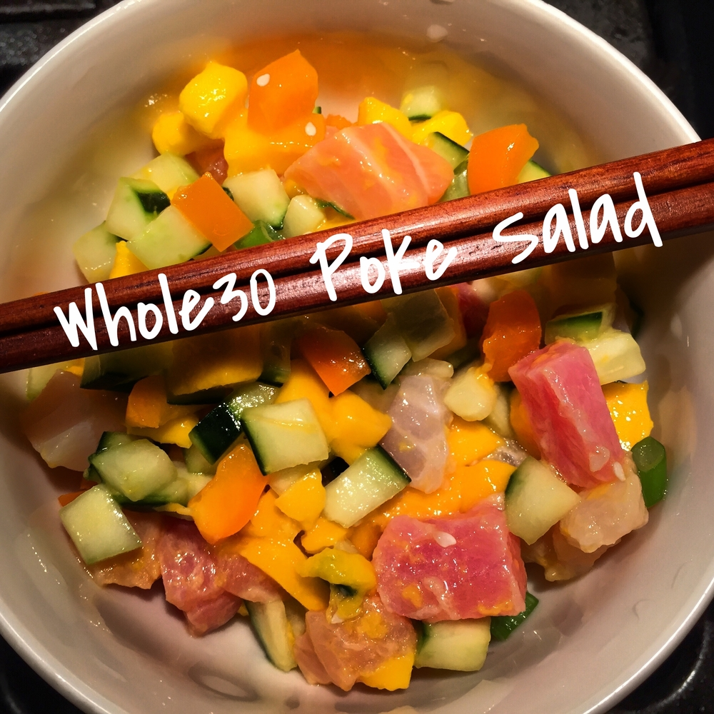 Whole30 Poke Salad