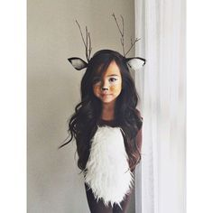 How's this for a cute, easy and homemade costume? Image Source: Pinterest